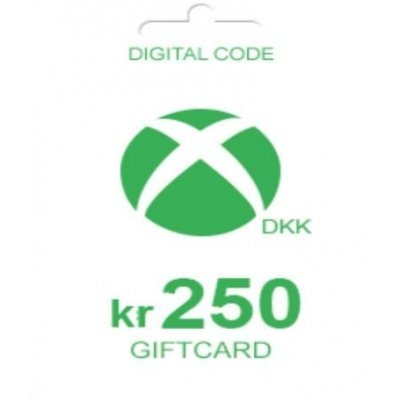Xbox Live 250 DKK