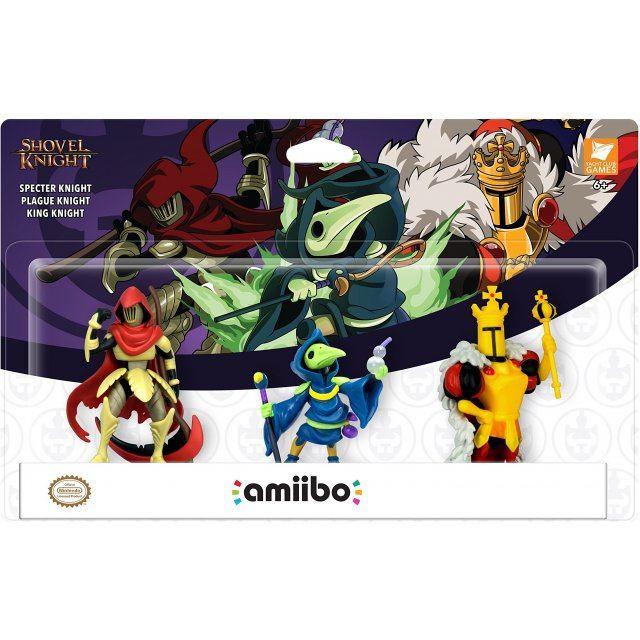 amiibo Shovel Knight Series Figure (3-pack Set)