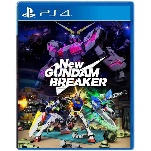 New Gundam Breaker (English Subs)