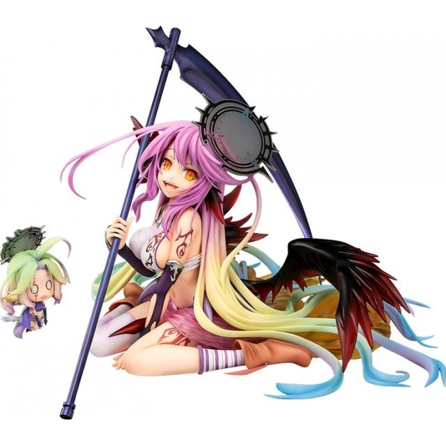 No Game No Life Zero 1/7 Scale Pre-Painted Figure: Jibril Great War Ver.