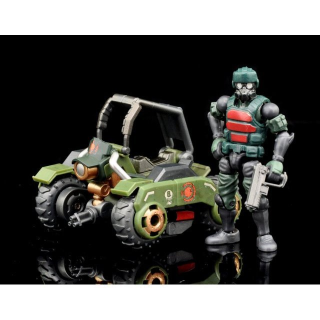 Beaver Acid Rain 1/28 Scale Action Figure: Wave 2B - K6 Jungle Speeder MK1K Set