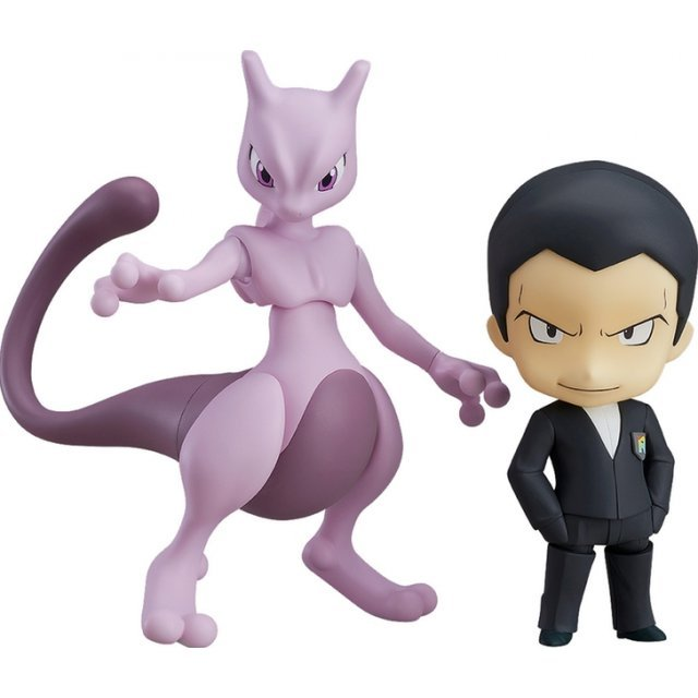Nendoroid No. 875 Pokemon: Giovanni & Mewtwo [Pokemon Center Online Shop Limited Ver.]