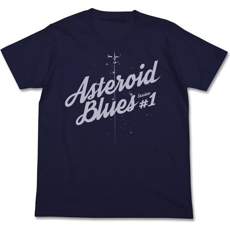 Cowboy Bebop - Asteroid Blues T-shirt Navy (L Size)