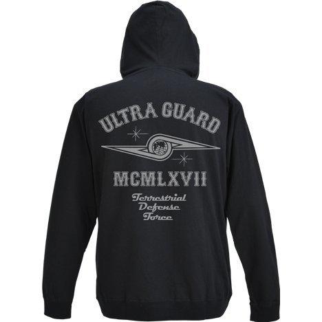 Ultra Seven - Ultra Guard Light Hoodie Black (S Size)