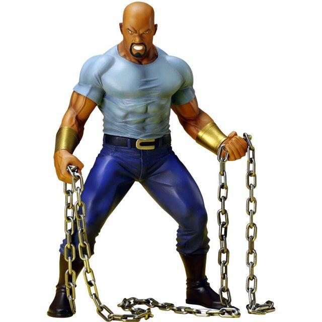 ARTFX+ The Defenders 1/10 Scale Pre-Painted Figure: Luke Cage