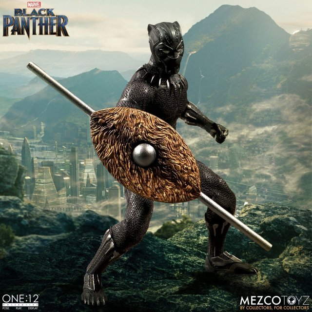 One:12 Collective Action Figure: Black Panther