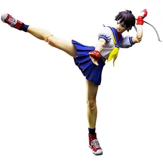 S.H.Figuarts Street Fighter IV: Sakura Kasugano