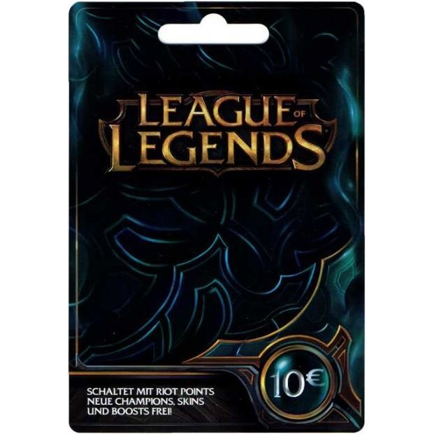 League of Legends Gift Card EUR 10