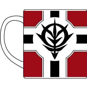 Mobile Suit Gundam - The Principality Of Zeon Flag Mug Cup