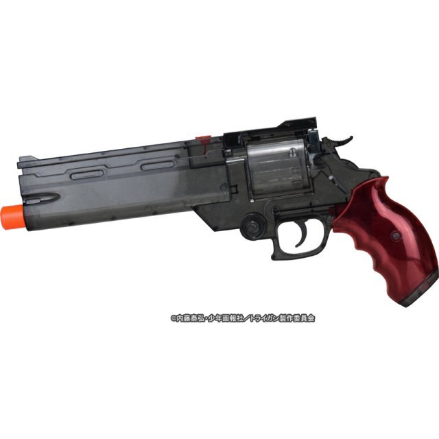 The Movie of Trigun Badlands Rumble 1/1 Scale: Vash's Water Gun Clear Black Ver.