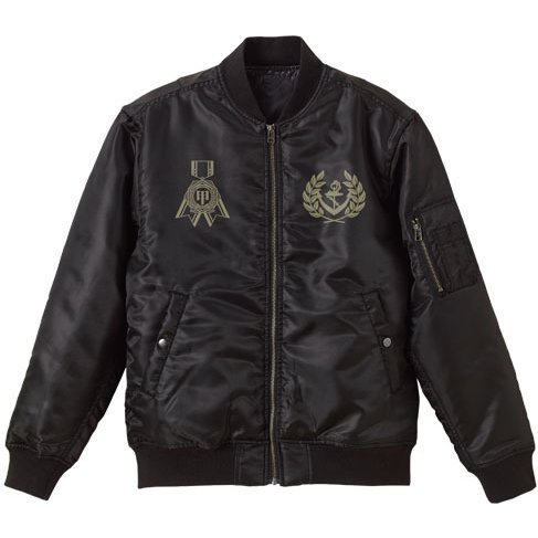 Kantai Collection - Kan Colle Admiral MA-1 Jacket Black (M Size)