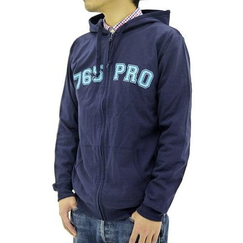 The Idolmaster - 765 Production Hoodie Navy (XL Size)