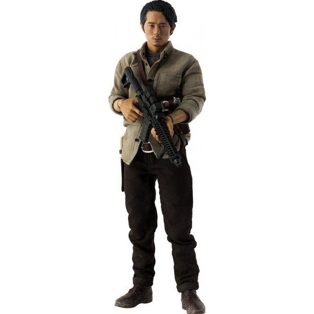 The Walking Dead 1/6 Scale Pre-Painted Action Figure: Glenn Rhee DX Ver.