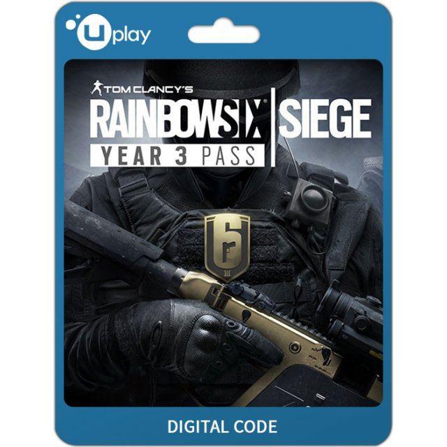Tom Clancy's Rainbow Six: Siege - Season Pass Year 3 [DLC