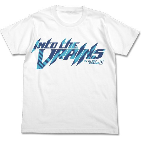 Yu-Gi-Oh! Vrains - Into The Vrains T-shirt White (M Size)