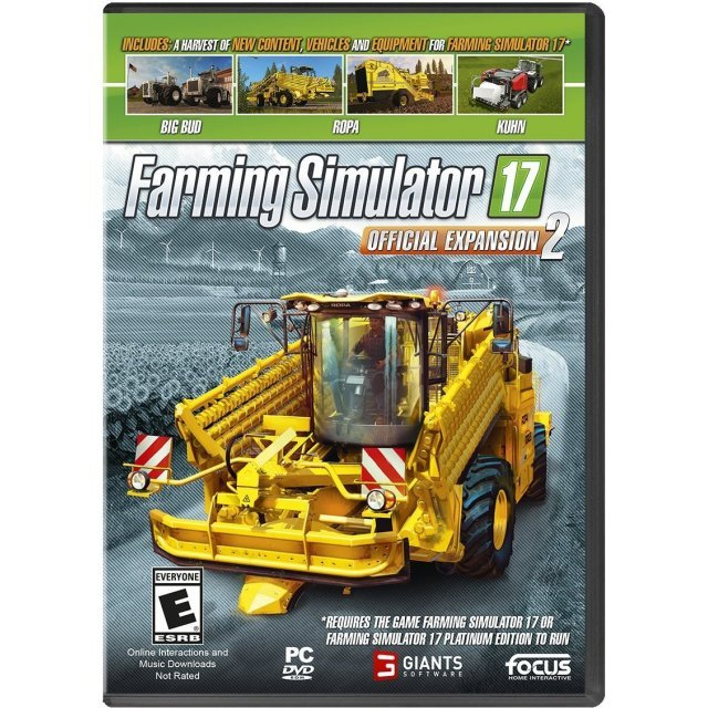 Farming Simulator 17: Official Expansion 2 (DVD-ROM)