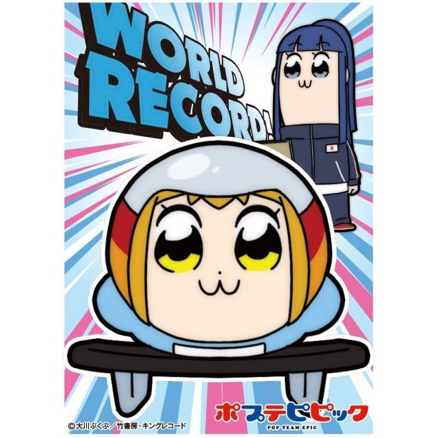 Pop Team Epic Character Sleeve: World Record
