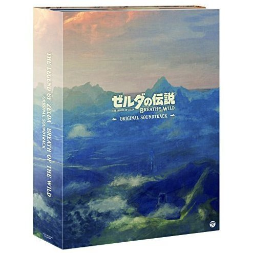 The Legend Of Zelda: Breath Of The Wild Original Soundtrack (5CD)