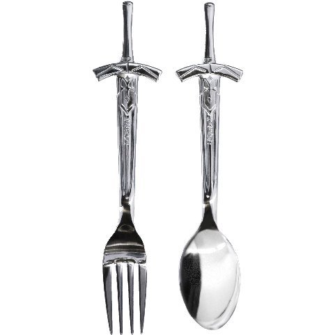 Fate/Stay Night [Heaven's Feel] - Yakusoku Sareta Shouri No Spoon & Fork Set