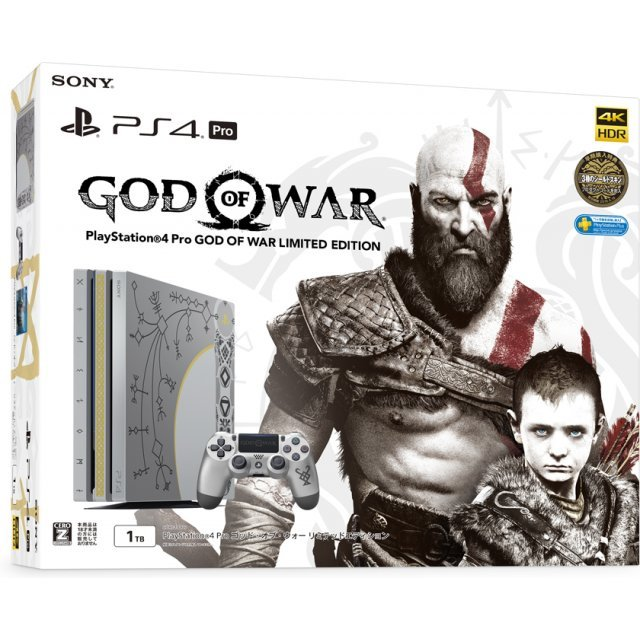 PlayStation 4 Pro 1TB HDD [God of War Limited Edition]