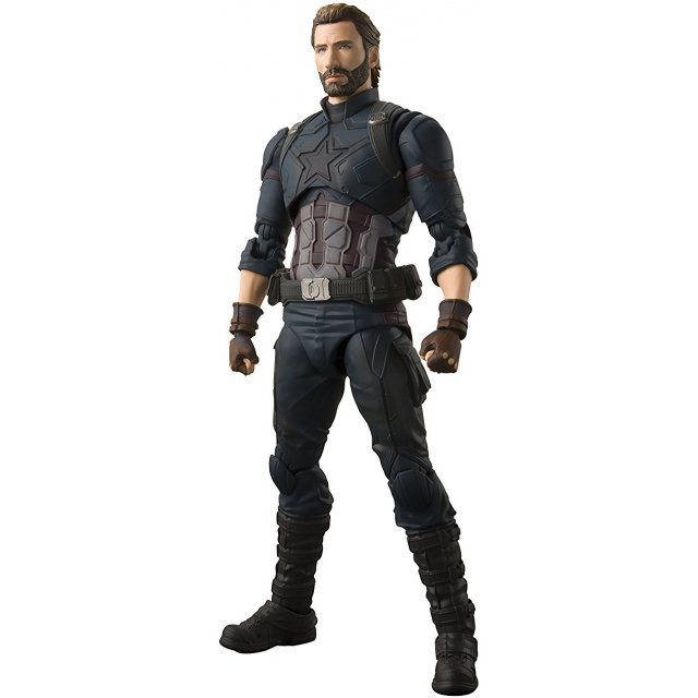 S.H.Figuarts Avengers Infinity War: Captain America
