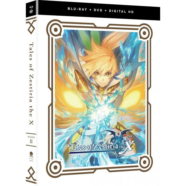 Tales Of Zestiria The X - Season Two [Blu-ray+DVD+Digital HD]