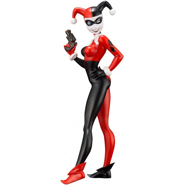 ARTFX+ DC Universe Batman - The Animated Series 1/10 Scale Pre-Painted Figure: Harley Quinn Animated