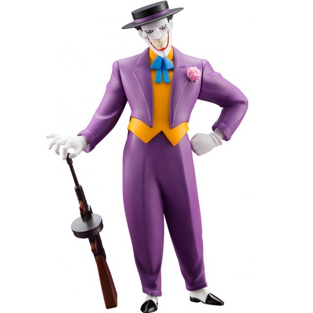 ARTFX+ DC Universe Batman - The Animated Series 1/10 Scale Pre-Painted Figure: Joker Animated