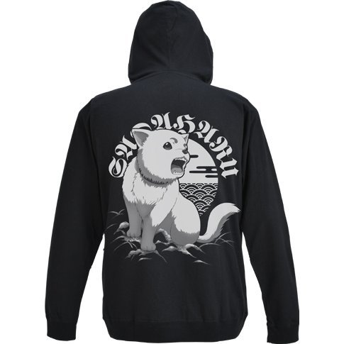 Gintama - Sadaharu Light Hoodie Roar Ver. Black (L Size)