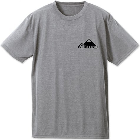 Yurucamp Dry T-shirt Heather Gray (L Size)