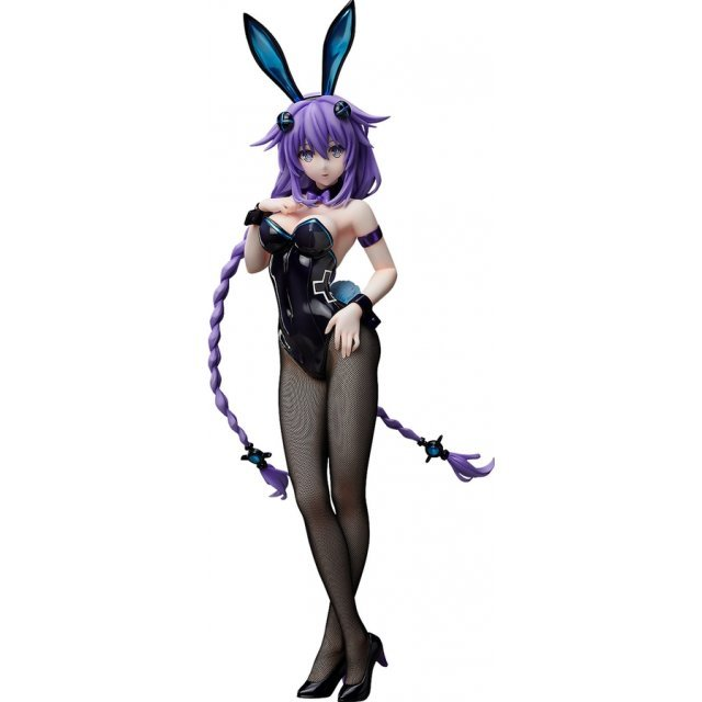 Hyperdimension Neptunia 1/4 Scale Pre-Painted Figure: Purple Heart Bunny Ver.