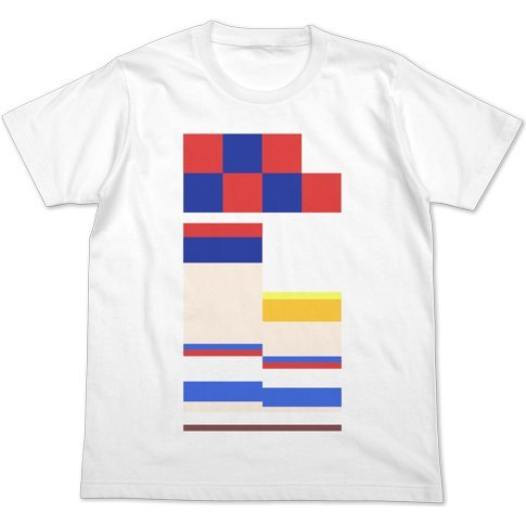 Pop Team Epic - Full Color T-shirt White (S Size)