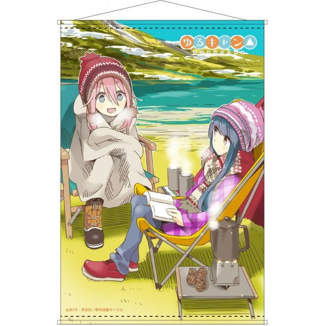 Yuru Camp Scroll
