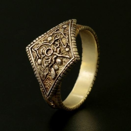 Dark Souls × TORCH TORCH / Ring Collection: Men's Ring Of Favor (S Size)