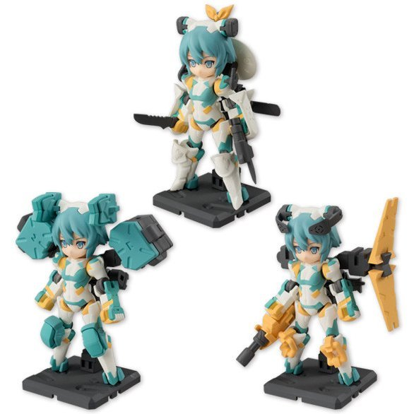 Desktop Army B-101s Sylphy Series Beta Platoon Update Ver. (Set of 3 pieces)