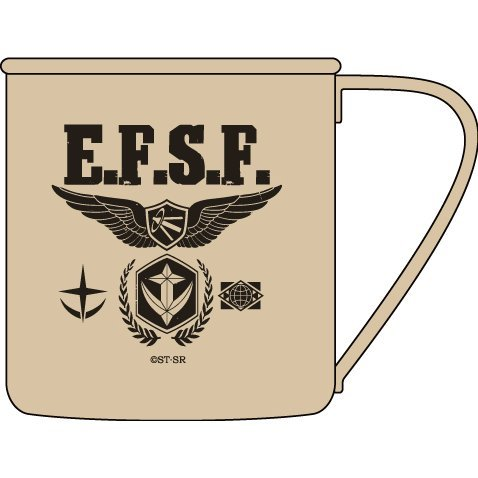 Mobile Suit Gundam - Earth Federation Stainless Mug Cup