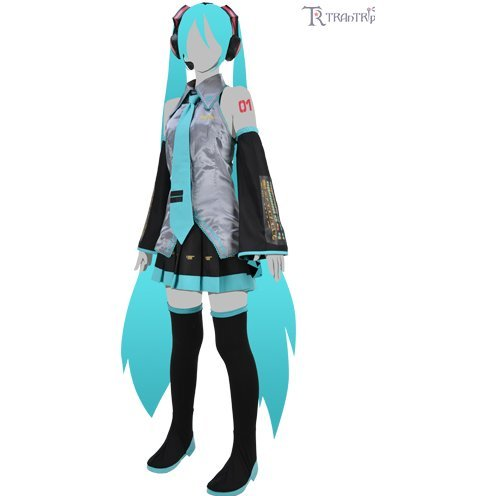 Hatsune Miku Costume Set Ver.2.0 Ladies (L Size)