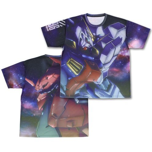 Mobile Suit Gundam - Twilight Axis Double-sided Full Graphic T-shirt (M Size)