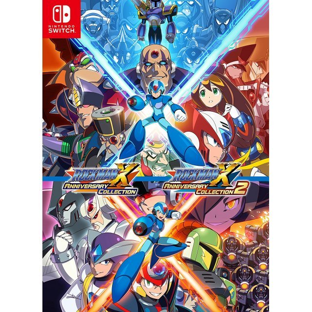 Mega man x collection 1-4 on switch cart, 5-8 download | ResetEra