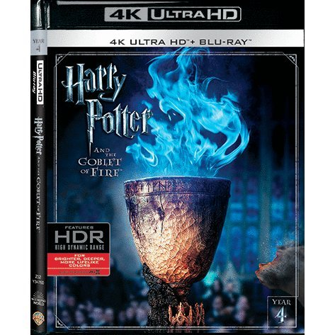 Harry Potter and the Goblet of Fire  (4K UHD+BD) (2-Disc)