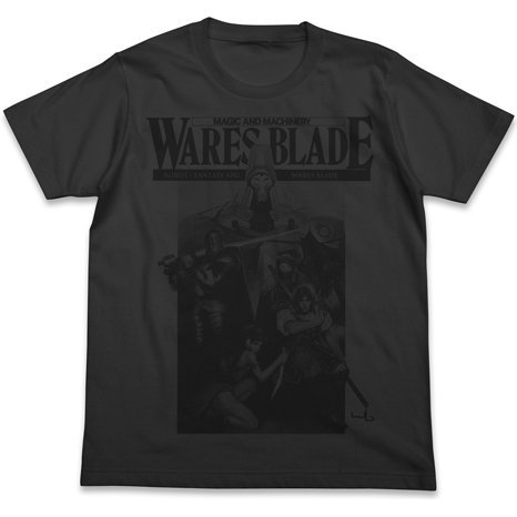 Magic And Machinery - Wares Blade T-shirt Sumi (L Size)