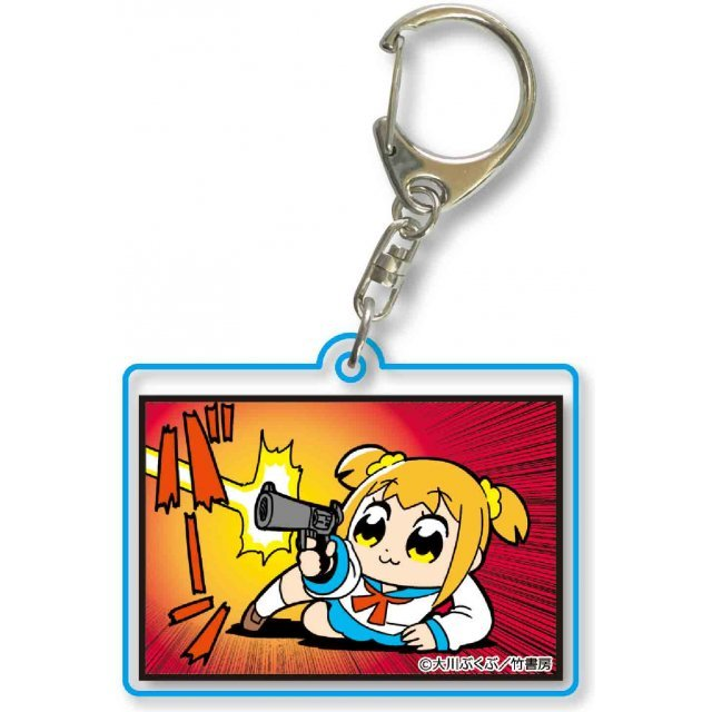 Pop Team Epic Square Clear Keychain Part. 8 23