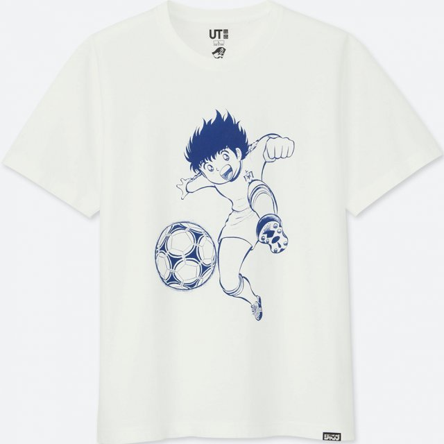 UT Jump 50th Anniversary - Captain Tsubasa Men's T-shirt (XL Size)