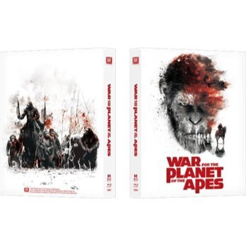 War for the Planet of the Apes (4K UHD+BD) (2-Disc) (Full Slip, Steelbook Version)