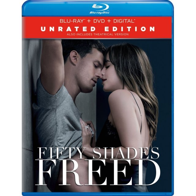 Fifty Shades Freed (Unrated Edition) [Blu-ray+DVD+Digital HD]