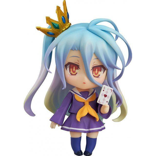 Nendoroid No. 653 No Game No Life: Shiro [Good Smile Company Online Shop Limited Ver.] (Re-run)