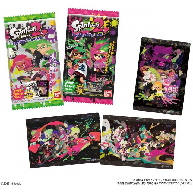 Splatoon 2 Ikasu Card Wafer (Set of 20 pieces)