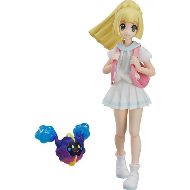 figma No. 392 Pokemon: Lively Lillie [Good Smile Company Online Shop Limited Ver.]