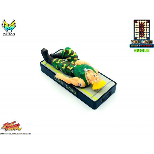 Street Fighter You Lose 32gb USB Flash Drive: Guile