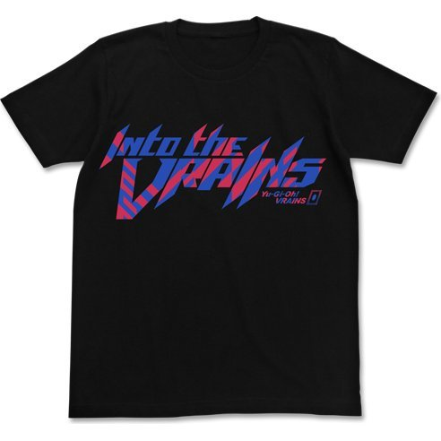 Yu-Gi-Oh! Vrains - Into The Vrains T-shirt Black (M Size)